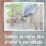 Cartilha Passeio Livre Conheça as Regras para Arrumar sua Calçada.