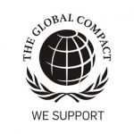 Logotipo The Global Compact - We Support