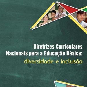 Thumbnail - Capa de cartilha Diretrizes curriculares.