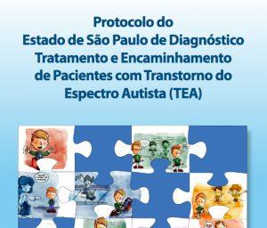 Thumbnail - Cartilha de Diagnóstico, Tratamento e Encaminhamento de Pacientes com Transtorno do Espectro Autista _ TEA - São Paulo