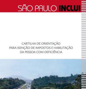 Thumbnail - Cartilha de Orientação para Isenção de Impostos e Habilitação da Pessoa com Deficiência - São Paulo